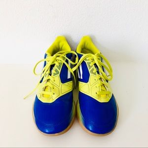ADIDAS⚡️Navy-Neon Green F50 Athletic Shoes_6
